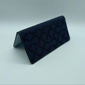 Free with purchase Coach cheque book holder